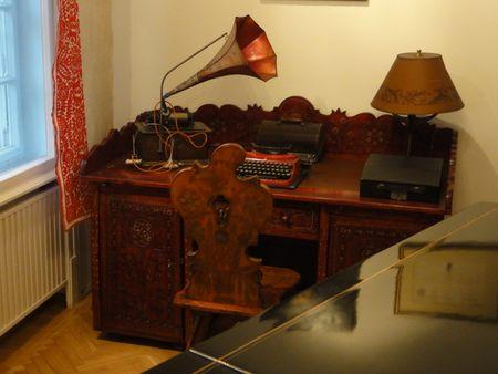 Bartok's Desk Budapest