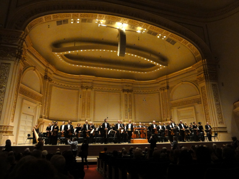Cleveland Orchestra, Carnegie, Feast of Music