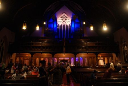 st. George's church, montreal chamber music festival