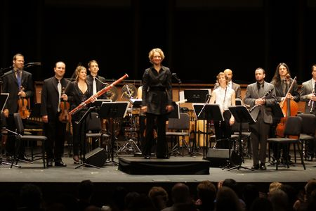 international contemporary ensemble, mostly mozart