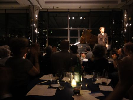 David Greilsammer, Kaplan Penthouse, Mostly Mozart Festival, 8/14/12