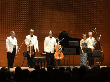 Emerson String Quartet with Joyce Yang and Timothy Cobb, Alice Tully Hall, 8:13:12