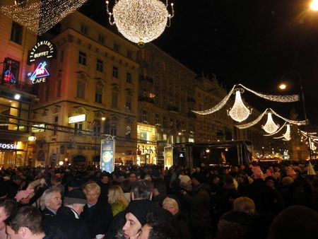 Graben vienna new years eve 2012 silvesterpfad