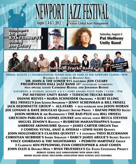 Newport Jazz Festival Feast of Music