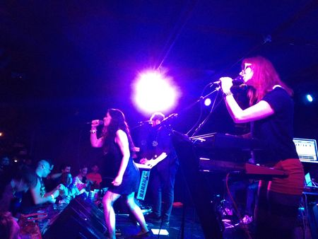 Freezepop at Knitting Factory 6:22