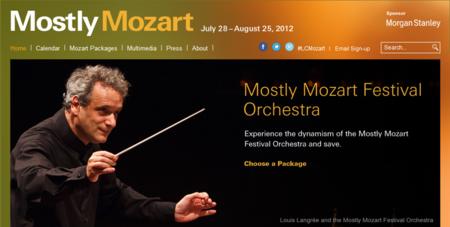 Mostly Mozart 2012