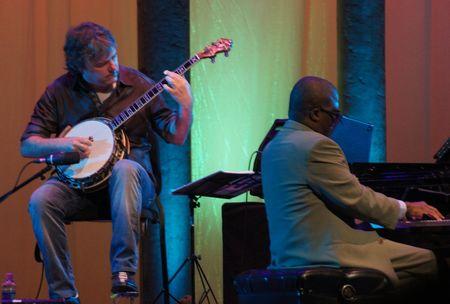 Bela Fleck and Marcus Roberts, Caramoor Jazz Festival, 8/4/12