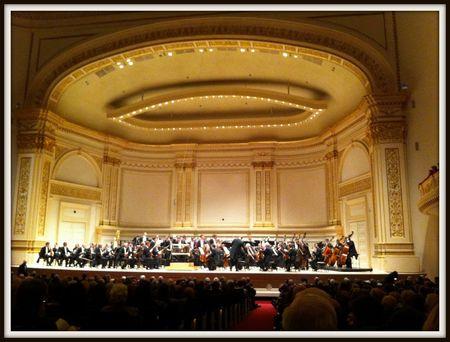 Vienna Philharmonic, Carnegie Hall 2013