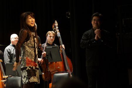Unsuk Chin and Alan Gilbert, NY Philharmonic CONTACT!