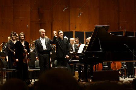 David Robertson, Pierre-Laurent Aimard, New York Philharmonic