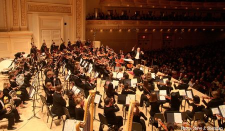 Oberlin Orchestra, Carnegie Hall, Feast of Music 2013