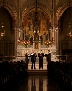 Miller Theater Early Music New York Polyphony St. Mary the Virgin