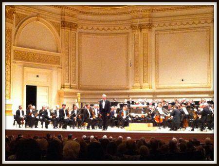 Herbert Lippert, Vienna Philharmonic, Carnegie Hall 2013