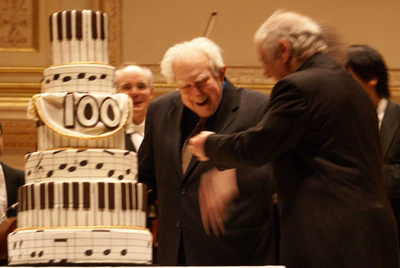 Elliott carter 100
