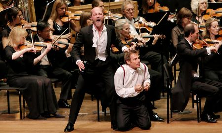 Wozzeck, Philharmonia, Simon Keenlyside, Esa-Pekka Salonen, Avery Fisher Hall