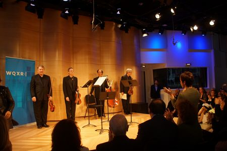 emerson String Quartet, WQXR Greene Space, 5/6/13