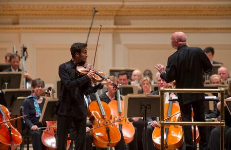 David Aaron Carpenter, National Symphony, Spring for Music