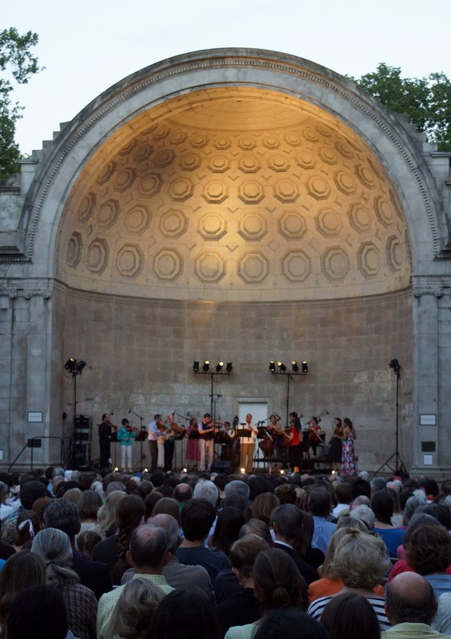 The Knights, Naumburg Bandshell