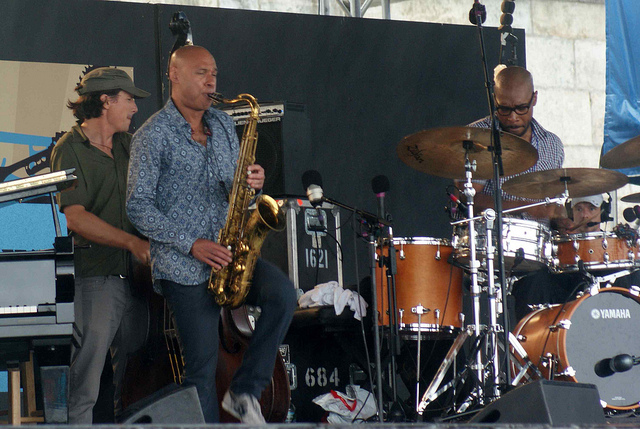 Joshua Redman and James Farm, Newport 2011