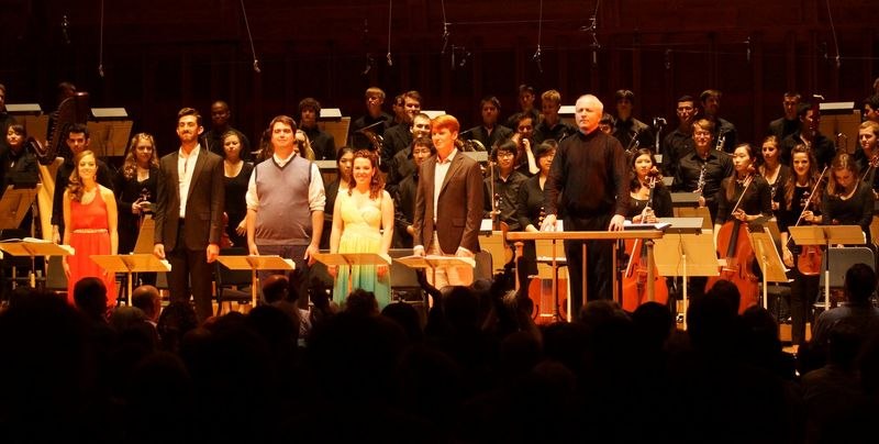 Written on Skin, TMC Orchestra and Cast with George Benjamin