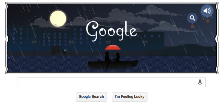 Google Debussy Doodle