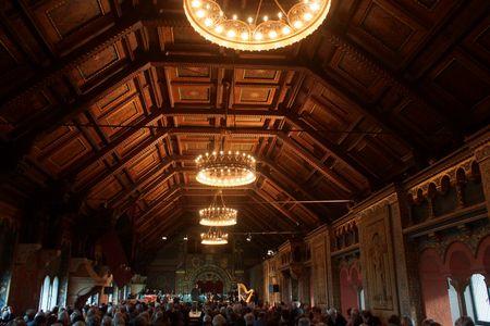Wartburg Great Hall, Tannhauser, 5/20/13
