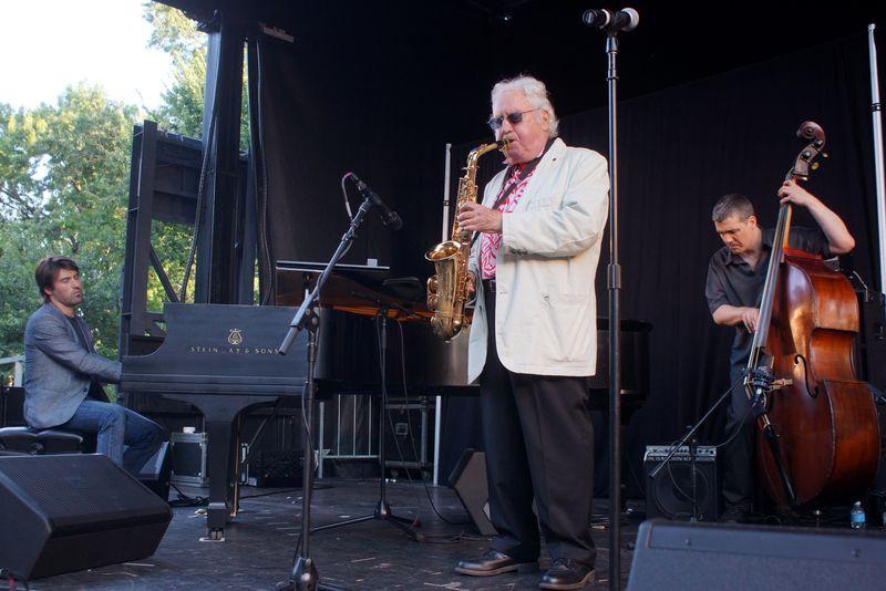 Lee Konitz, Charlie Parker Jazz Festival