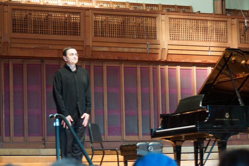 Pierre Laurent Aimard, Tanglewood, 8/10/13