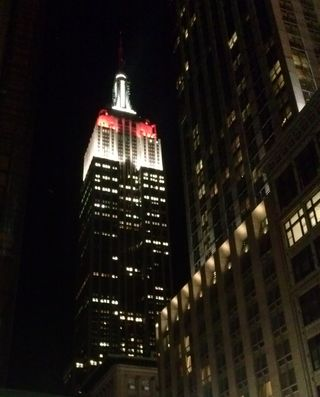 empire state building ny philharmonic opening gala