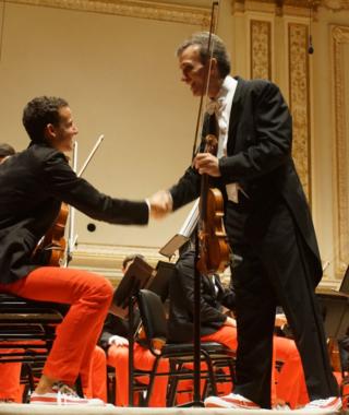 Gil shaham, national youth orchestra