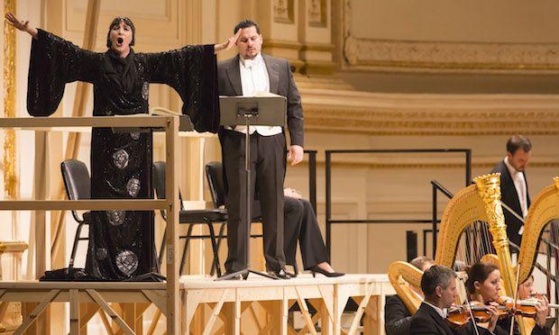 Vienna State Opera, Salome, Carnegie Hall