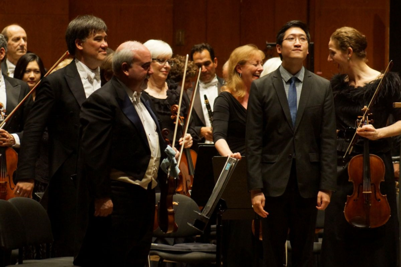 Anthony Cheung, Alan Gilbert, NY Philharmonic