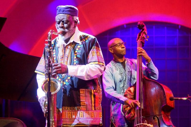 Pharoah Sanders - Celebrate Brooklyn - Feast of Music Jun 23  2017  9-025