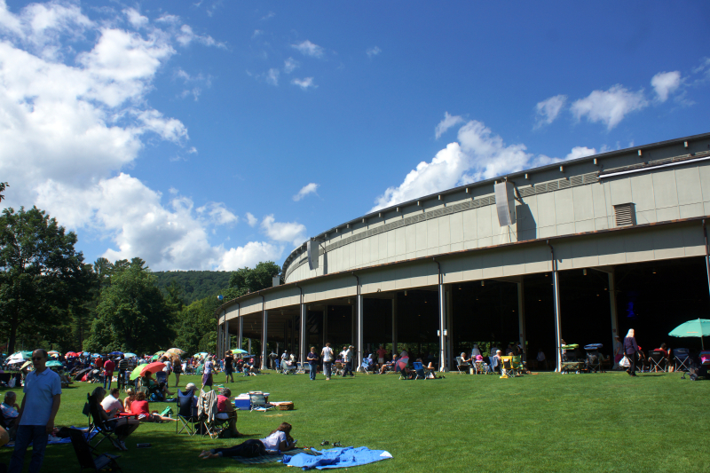 Tanglewood - Feast of Music Jul 9  2017  3-33 PM