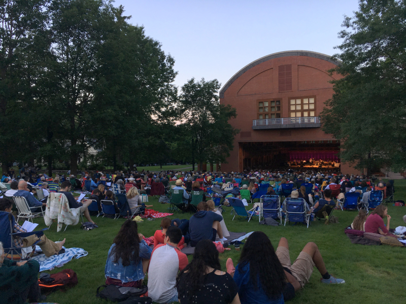 Tanglewood - Feast of Music Jul 9  2017  8-27 PM
