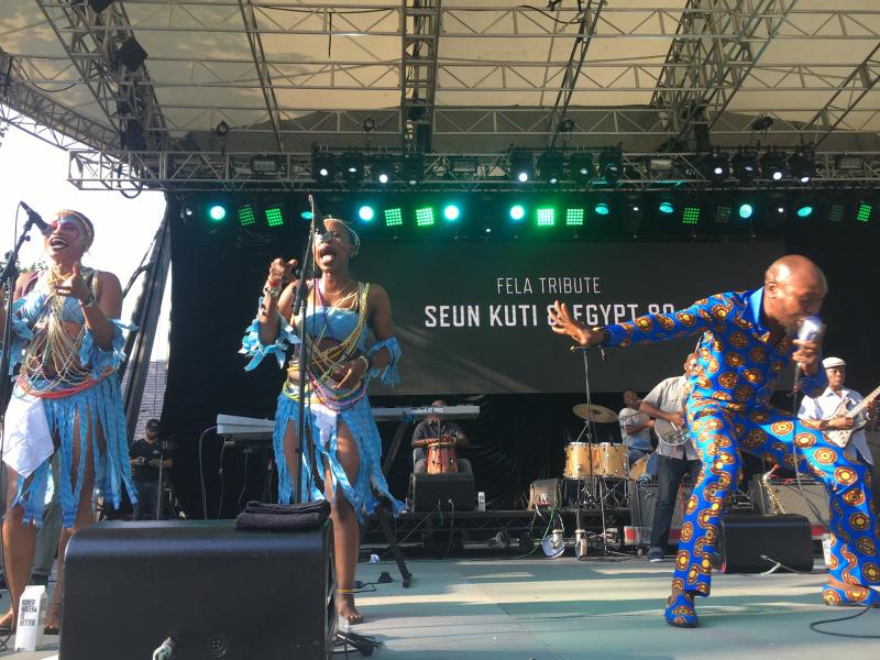 Seun Kuti - Summerstage - Feast of Music Jul 16  2017  5-46 PM Jul 16  2017  6-07 PM