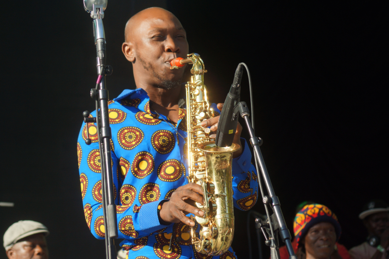 Seun Kuti - Summerstage - Feast of Music Jul 16  2017  5-46 PM Jul 16  2017  6-07 PM