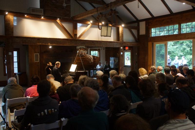 Pierre-Laurent Aimard - Tanglewood at Mass Audubon Pleasant Valley - Feast of Music Jul 27  2017 Jul 27  2017  7-07 AM Jul 27  2017  7-010