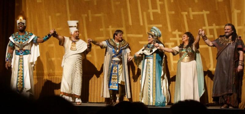 Aida Cast, Met Opera
