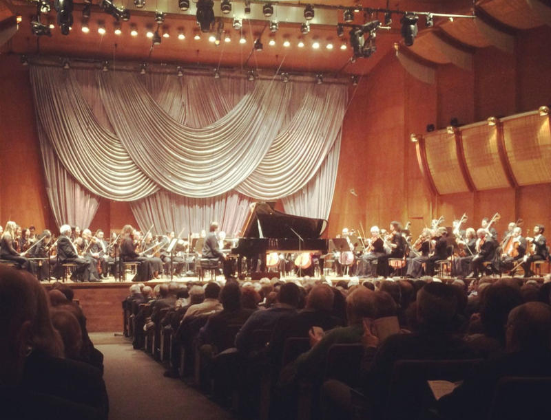 New York Philharmonic Daniel Trifanov