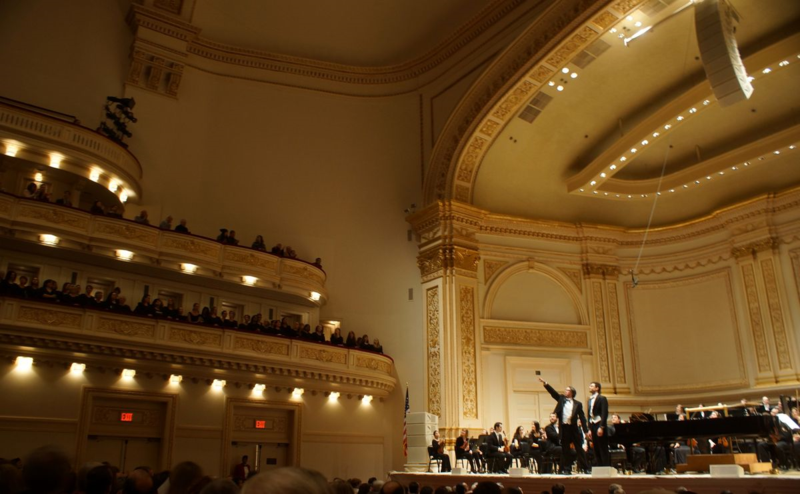 Julian Wachner, Timo Andres, Carnegie Hall