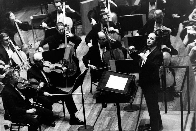 Pierre Boulez, NY Philharmonic, 1975