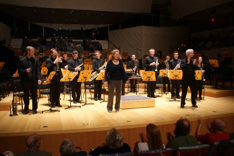Julia Wolfe and John Adams, New World Symphony