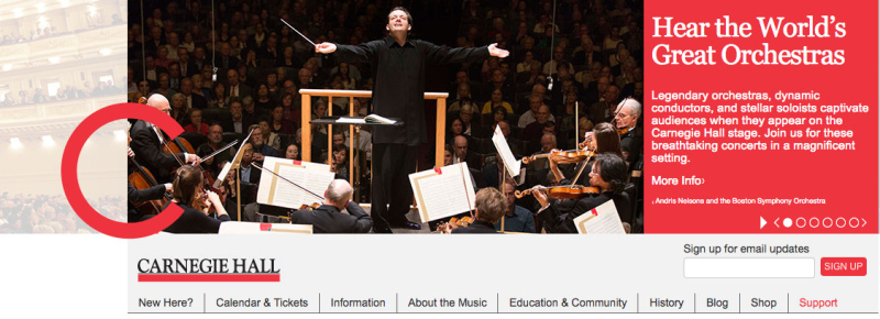 Carnegie Hall Calendar.Boston Symphony Orchestra At Carnegie Hall Feast Of Music