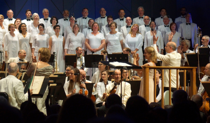 Boston Symphony Orchestra - Tanglewood - Feast of Music July 7  2017 Jul 7  2017  9-41 PM