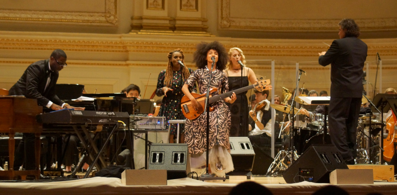 NY02 with Esperanza Spalding - Carnegie Hall - Feast of Music Jul 20  2017  8-13 PM