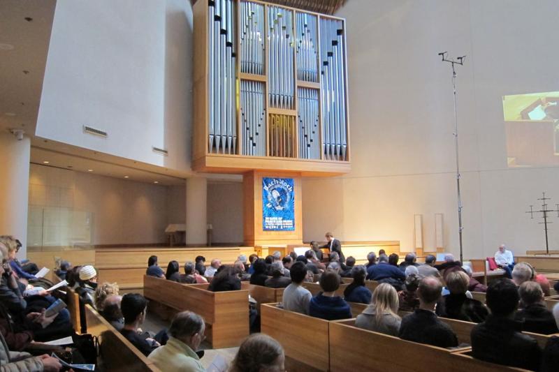 Bach Marathon, St. Peter's Church