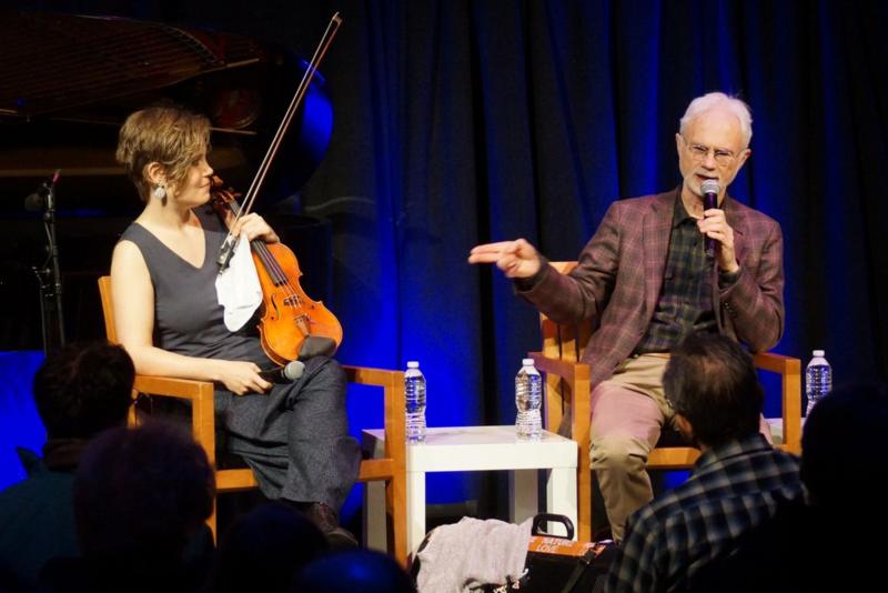 Leila Josefowicz and John Adams