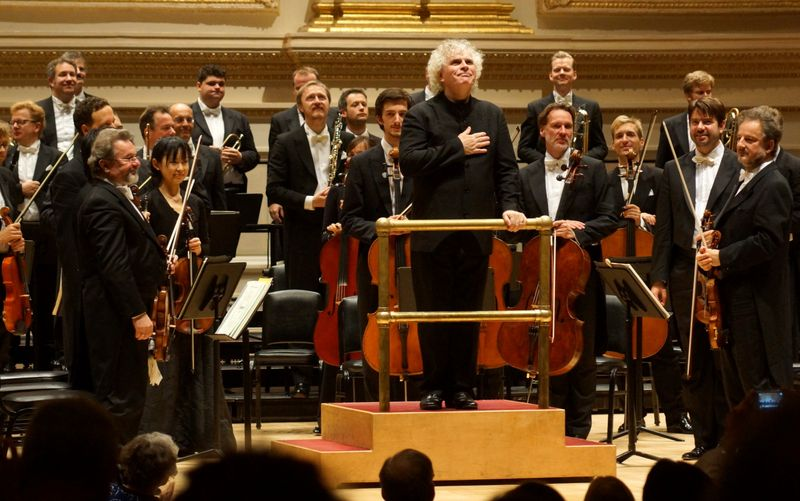 Simon Rattle Berlin Philharmonic Carnegie Hall