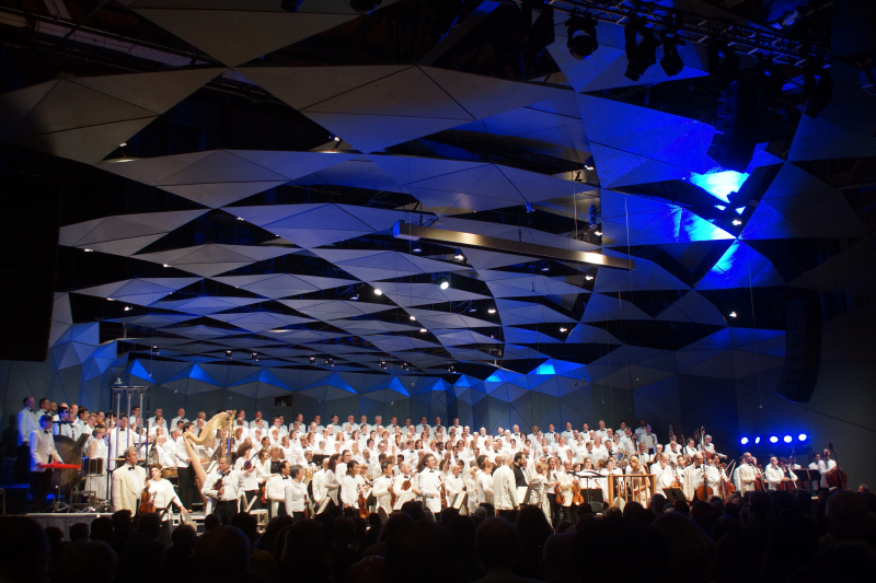 Boston Symphony Orchestra and Tanglewood Festival Chorus  Tanglewood  7:7:17 - Feast of Music